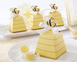 favor favor sweet as can bee and baby beehive favor box set of 24
