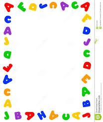 4 best images of abc word art printable free alphabet border