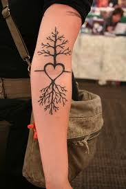 38 best tree of life heart tattoo designs images on pinterest