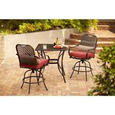 Patio Chairs Bar Height Hton Bay Bar Height Dining Sets Outdoor Bar Furniture The