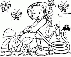 spring coloring pages toddlers kids coloring
