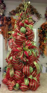 deco mesh tree u2026 christmas pinterest deco mesh wreaths and