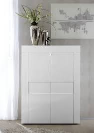 napoli two door high sideboard white gloss sideboards