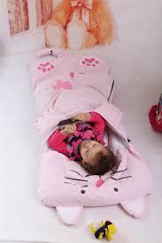 kids sleeping bag newborn baby atumn winter cortoon cute shark cat