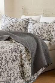 bedding my room is based on ikea alvine kvist gray floral duvet