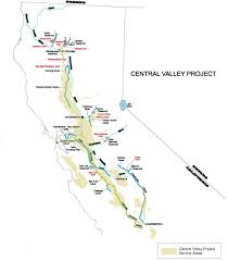 San Luis Valley Colorado Map by Central Valley Project