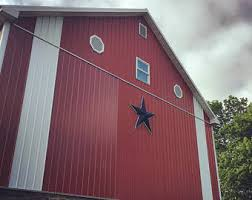 Red Shed Home Decor Metal Barn Etsy