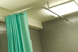 electric curtain rails roman blinds hospital curtain track goelst