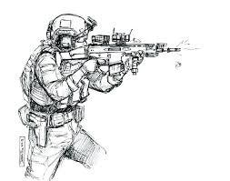 coloriage militaire  dmatechinfo