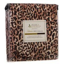 Leopard Print Duvet Jessica Sanders 1800 Series Safari Animal Print Bed Sheet Set