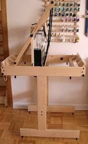 Bench Loom Dust Bunnies Under My Loom Loom Bench And Turned Taqueté