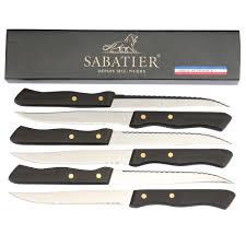 sabatier steak knives set of 6 ballantynes