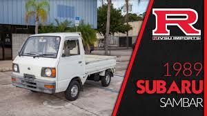 subaru sambar van 1989 subaru sambar mini truck youtube