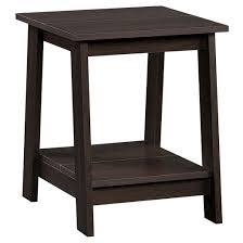 Room Essentials Storage Desk Trestle Side Table Espresso Room Essentials Target