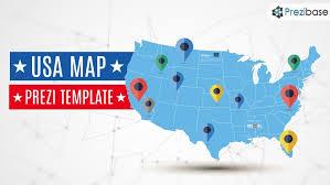 map usa states template usa map prezi template prezibase