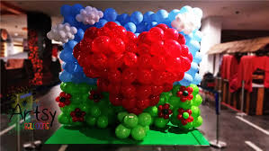 Wall Decoration With Balloons by Balloon Decoration Ideas Singapore Balloon Decoration Services