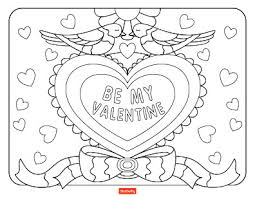 15 valentine u0027s coloring pages kids shutterfly