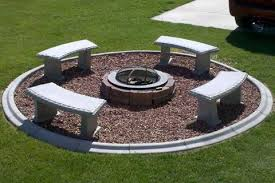 Backyard Landscaping With Fire Pit - fire pit ideas android apps on google play