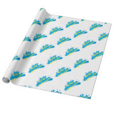 hello wrapping paper waving hello wrapping paper zazzle