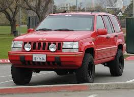 jeep grand 1995 limited slo nish 1995 jeep grand specs photos modification info