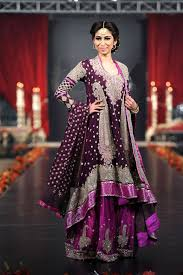 beautiful trend of multicolored dresses for mehndi latest