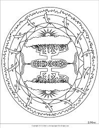 mandala coloring pages s mac u0027s place to be