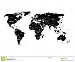world map black and white with country names pdf black political world map with country borders and white state