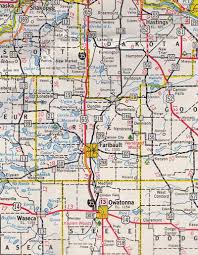 road map up the evolution of the minnesota official highway map
