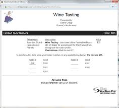auction software for non profit fundraising silent auction pro
