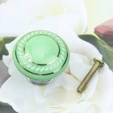 35mm ceramic cabinet porcelain knobs and handles kitchen dresser
