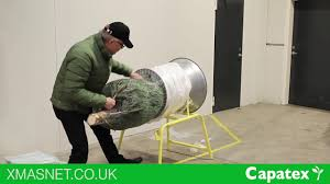 how to use xmasnet tree funnel packaging machine and net