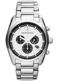 armani steel bracelet images Emporio armani chronograph bracelet watch ar6091 knight jewellers jpg