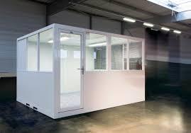 bureau d atelier modulaire ateliers de vignacourt cabine atelier palettisable cloison