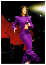 selena quintanilla purple jumpsuit selena at the houston astrodome 1995 i m still a fan of this