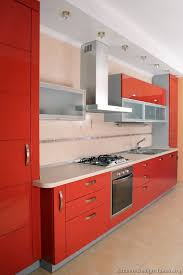 pictures of red kitchen cabinets pictures of kitchens modern red kitchen cabinets