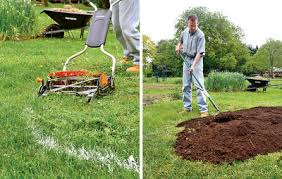 sheet mulching is the easiest way to convert lawn to garden
