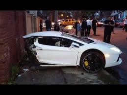 lamborghini 1 million dollar car half million dollar lamborghini aventador destroyed