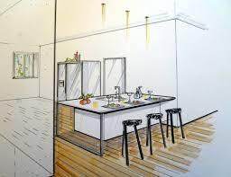 etude de cuisine empreinte d interieur collection leicht cuisines