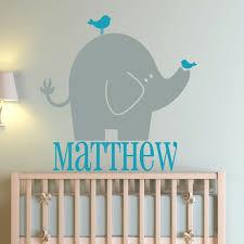 Custom Wall Decals For Nursery Custom Wall Decals Elephant Nursery Decal Wall Decals Elephant