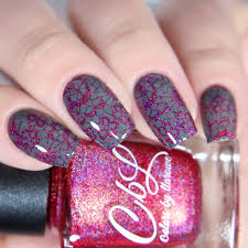 colors by llarowe stamping polishes glitterfingersss in english