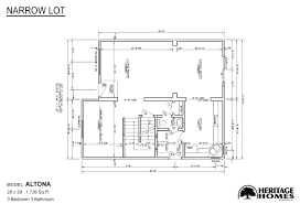 floor plans for narrow lots alpine homes in fort collins co manufactured home and modular