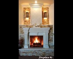 w over mantels fireplaces az