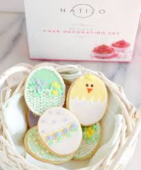 Decorated Sugar Cookies for Easter Baking Sense