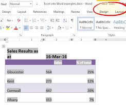 putting excel into word office watch