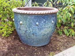 Glazed Ceramic Pots Outdoor Ceramic Pot How To Maintain Outdoor Glazed Ceramic Planters
