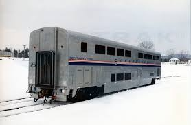 amtrak superliner bedroom transition sleeper no 39005 in the snow 1990s amtrak history