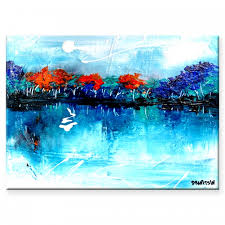 Abstract Landscape Painting by Landscape Paintings Abstract Landscape Artwork On Canvas For Sale