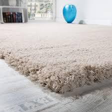 Teppich Schlafzimmer Beige Shaggy Teppich Micro Polyester Wohnzimmer Teppiche Elegant