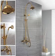 Bathroom Faucet And Shower Sets Bathroom Shower Sets Bathroom Shower Sets Copper Titanium Gold
