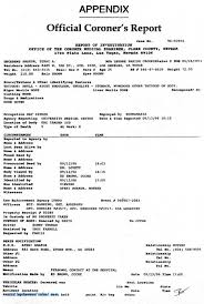 autopsy report template blank autopsy report template cool tupac s coroner s report shows